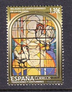SPAIN ESPAGNE ESPAÑA 2016 MIRACLE OF SANTO Domingo De La Calzada - Christentum