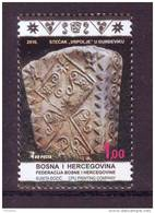 BiH Bosnia 2016 Y Monuments Tombstones MNH - Bosnie-Herzegovine