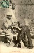 EGYPTE - Barbier Arabe - Carte Voyagée Et En Bon état - 21630 - Alexandria