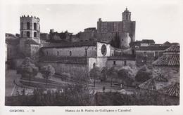 _Gerona  San Pedro Galligans Y Catedral - Gerona
