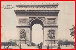 PARIS - Arc De Triomphe De L'Etoile - Arc De Triomphe