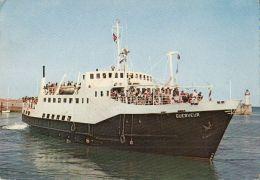 CPA SHIPS, GUERVEUR PASSENGER SHIP - Altri