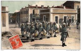 Militaria, Carte Légion Étrangère, Armée Coloniale , La Clique, écrite - Militaria