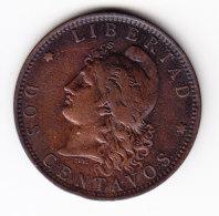 ARGENTINA, KM 33, XF, 1889, 2 C. (B351) - Argentine