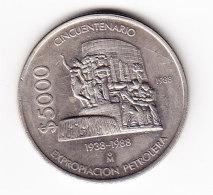 MEXIQUE, KM 531, XF, 1988, 5000 P. (B353) - Mexique