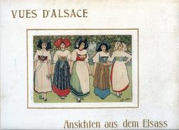 Vues D'Alsace / Ansichten Au Dem Elsass Non Daté Mais Ancien - Alsace