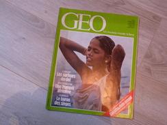 GEO UN NOUVEAU MONDE: LA TERRE N°47.1983. VOLCANS. DJENNE. CALCUTTA. BAIKAL.