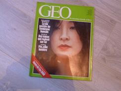 GEO UN NOUVEAU MONDE: LA TERRE N°49.1983. JAPON. FES. SAUMON.