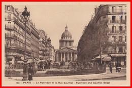 PARIS - Le Panthéon Et La Rue Soufflot - Pantheon