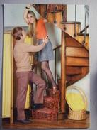 RARE LOT DE 10 CARTES PHOTOS DE COUPLES ANNEES 50/ 60/70 / CARTES GLACEES - Couples