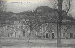 Montvendre (Drôme) - La Place - Café Thibaud - Edition Vve Chapon - France