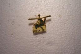 - PINS  -- ALAT -TIGRE - HELICOPTERE ---TIGER 007 - Militaria