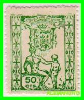 ESPAÑA  CADIZ  ( EUROPA ) SELLO  PATRONATO  SOCIAL  JOSE ANTONIO  50 CENTS. NUEVO - Ifni