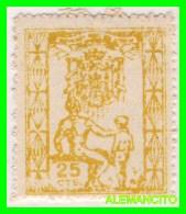 ESPAÑA  CADIZ  ( EUROPA ) SELLO  PATRONATO  SOCIAL  JOSE ANTONIO  25 CENTS. NUEVO - Ifni