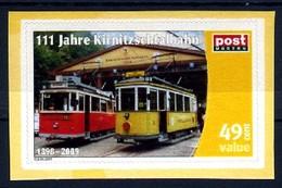 Privatpost Sachsen 111 Jahre Kirnitzschtalbahn **/MNH - Trains