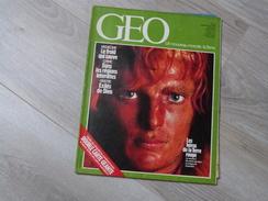 GEO UN NOUVEAU MONDE: LA TERRE N°55.1983. AUSTRALIE. CHINE. CERF.