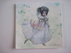 CPM Miss Automne Sandrine Fourrier T.B.E. 14 X 14 Cm - Illustrateurs & Photographes