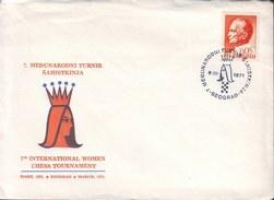 JUGOSLAVIA - 7. INTERNAT. WOMEN  CHESS TOURNAMENT - BEOGRAD - 1971 - Schaken