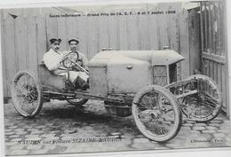 CPA Voiture Automobile Course Circuit De La Seine Inférieure 1908 ACF Non Circulé Sizaire Naudin - Sport Automobile