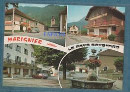 74-MARIGNIER-Multivues-voitures- Non écrite-2 Scans-10.5 X 15 - CELLARD - Francia