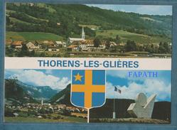 74-THORENS-LES-GLIÈRES-Multivues-le Plateau Haut Lieu De La Résistance En 1944- Non écrite-2 Scans-10.5 X 15-CAP THÉOJAC - Thorens-Glières