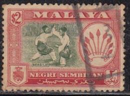 $2 Negri Sembilan Used 1957 - Negri Sembilan