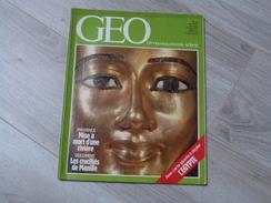 GEO UN NOUVEAU MONDE: LA TERRE N°50.1983. L'EGYPTE.MONGOLIE.MANILLE.MONTGOLFIERE. KANGOUROUS.