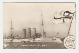 """Carte Postale Navire - Kleiner Kreuzer S.M.S.,, Berlin"""" . 33643/33.  B.N.K. Carte Postale Non Voyagé, Dos Séparé, Petite - Allemagne"""