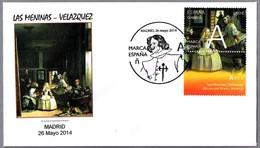 Cuadro LAS MENINAS De DIEGO VELAZQUEZ. Madrid 2014 - Kunst