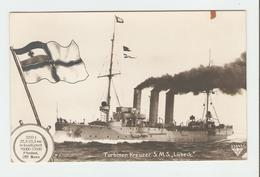 """Carte Postale Navire - Turbinen Kreuzer S.M.S.,, Lübeck"""". 33643/35.  B.N.K. Carte Postale Non Voyagé, Dos Séparé, Une Ta - Allemagne"""