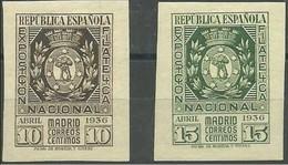 ESPAÑA AÑO 1936.EDIFIL 727/8 * .CV +130 EUROS - 1931-Today: 2nd Rep - ... Juan Carlos I