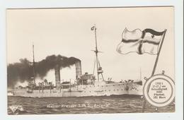 """Carte Postale Navire - Kleiner Kreuzer S.M.S.,, Arcona.""""  33643/38.  B.N.K. Carte Postale Non Voyagé, Dos Séparé, Bon ét - Allemagne"""