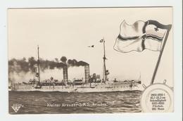 """Carte Postale Navire - Kleiner Kreuzer S.M.S.,, Ariadne."""" 33643/41.  B.N.K. Carte Postale Non Voyagé, Dos Séparé, Bon ét - Allemagne"""