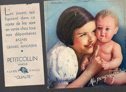(jouets) Catalogue-conte De Fée PETITCOLLIN Illustrations LIDIS  (PPP4199) - France