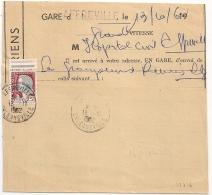 En BLEU, E.A. Sur DECARIS, AFFREVILLE, ORLEANSVILLE Algérie Sur FORMULAIRE COMPLET. 13/10/1962 - Algérie (1962-...)