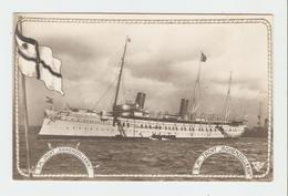 """Carte Postale Navire - S.M. Jacht ,, Hohenzollern"""". 33643/42.  B.N.K. Carte Postale Non Voyagé, Dos Séparé, Bon état. - Allemagne"""