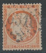 Lot N°34229   Variété/n°38, Oblit GC 6316 LYON-LES-TERREAUX (68), Filet SUD - 1870 Siege Of Paris