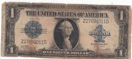 BILLETE ESTADOS UNIDOS ONE DOLLARS  AÑO 1923 - Estados Unidos