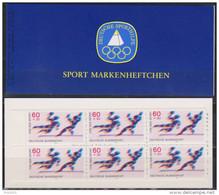 Bund 1979 Markenheftchen Deutsche Sporthilfe  DSH - MH 1a  Mit 6 X Nr.1009 ** Postfrisch  ( D 3078 ) - [7] République Fédérale