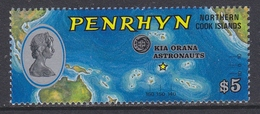 Penrhyn 1975 Space Soyuz/Apollo 1v ** Mnh (34723D)