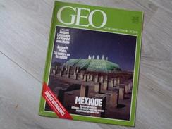 GEO UN NOUVEAU MONDE: LA TERRE N°61.1984. MEXIQUE. COTE D'ARMOR. KODO DE SADO. LA RAGE RENARD.