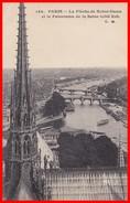 PARIS - La Flèche De Notre-Dame Et Le Panorama De La Seine - Notre Dame De Paris