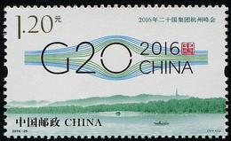 China (2016) - Set - #26  /  G20 - 1949 - ... Repubblica Popolare