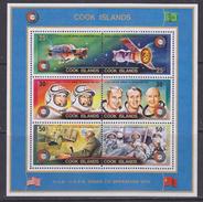 Cook Islands 1975 Space Soyuz/Apollo M/s ** Mnh (34724L)