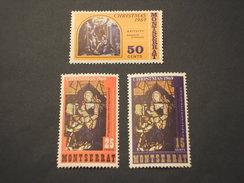 MONTSERRAT - 1969 VETRATE NATALE 3 VALORI - NUOVI(++) - Montserrat