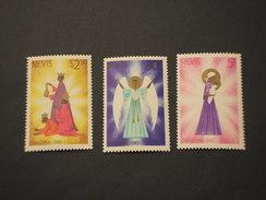 NEVIS - 1980 DISEGNI NATALE   3 VALORI - NUOVI(++) - St.Kitts E Nevis ( 1983-...)