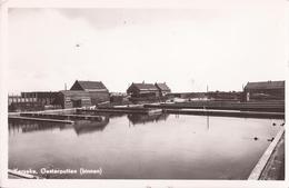 YERSEKE GEM. REIMERSWAAL 1955 OESTERCULTUUR HUITRES OESTERS VISSERIJ OESTERPUTTEN BINNEN - 2 SCANS - Yerseke