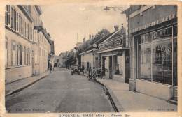 01 - AIN / Divonne Les Bains - Grande Rue - Léger Défaut - Divonne Les Bains