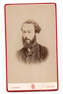 Photographie Ancienne - Homme - Photographe Georges Briand - 2 Rue Du Cloître à Chalons S/Marne - Old (before 1900)