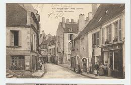 58 Dép - La Charité-sur-Loire (Nièvre). Rue Des Hôtelleries. Carte Postale écrite Au Dos Au Crayon, Dos Séparé,1 Pliure - La Charité Sur Loire